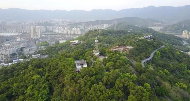 金鸡山全国公园美如画拥有很深的底蕴文化_福风景有名园林设计图片