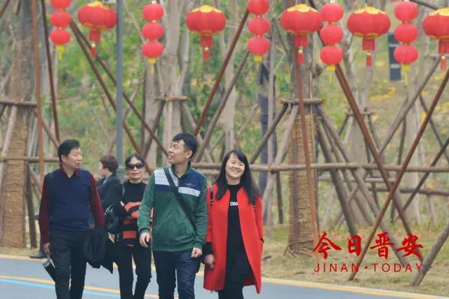 """晋安推出""""游园、温泉、文化""""主题新春旅游月活动 游客人数比去年同期增长29%"""