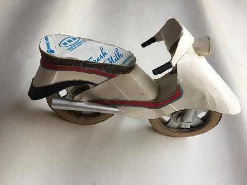 废弃鞋子手工制作