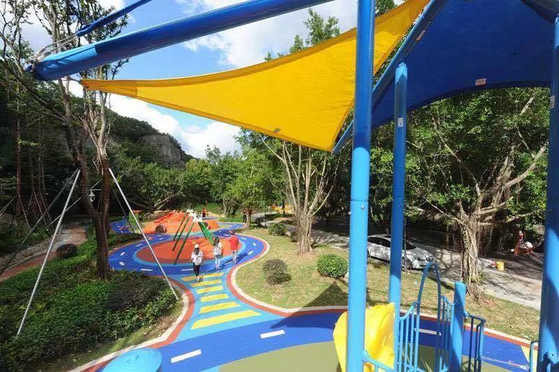 晋安区金鸡山公园新增儿童游乐场