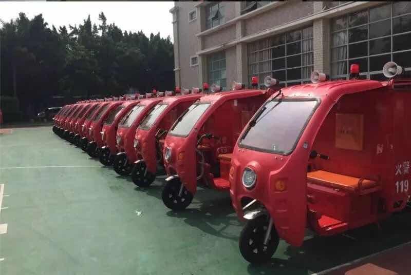 晋安区举行微型消防站器材捐赠仪式