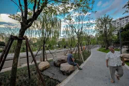 晋安马沙溪串珠公园成为福州首个儿童主题串珠公园