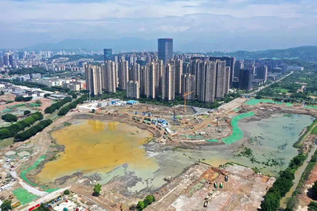 晋安湖公园明年全面建成