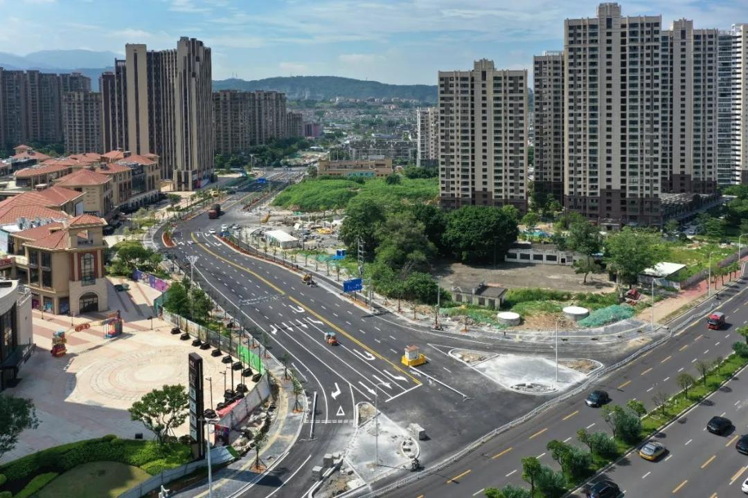 晋安区秀峰雅苑周边道路正式通车